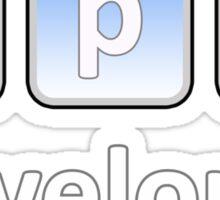 App Developer Sticker