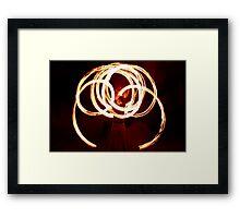 Enchanting fire. Framed Print