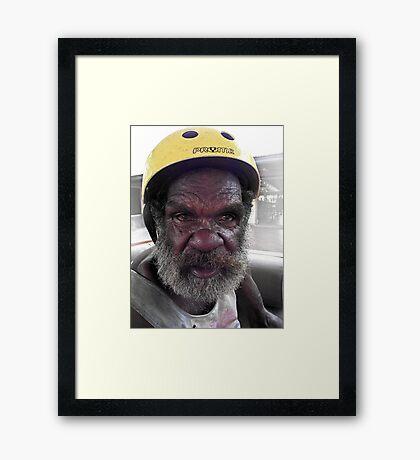 'Roger' Framed Print