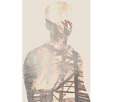 Double Exposure Abstract Portrait Photographic Print