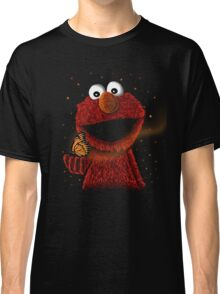 Elmo and Little butterfly friend Classic T-Shirt