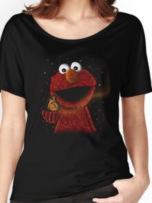 Elmo and Little butterfly friend Women's Relaxed Fit T-Shirt