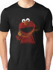 Elmo and Little butterfly friend Unisex T-Shirt
