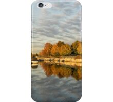 Autumn Splendor at the Marina iPhone Case/Skin