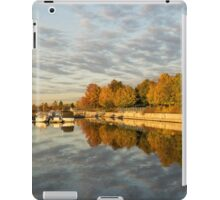 Autumn Splendor at the Marina iPad Case/Skin