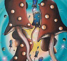 Mushroom Migration by Krystyna Spink