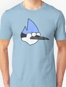 Mordecai annoyed face Unisex T-Shirt