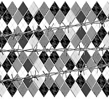 Argyle and Wire Skewers by PrivateVices