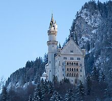 Neuschwanstein by bkimbro