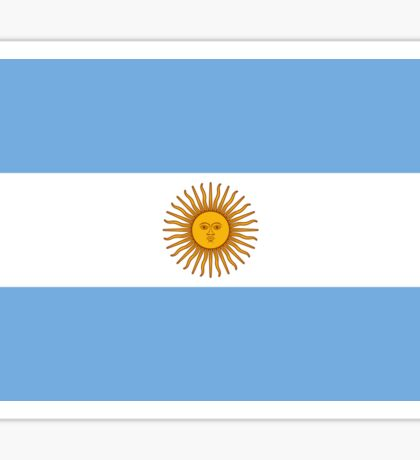 Argentina World Cup Football Flag - Argentinian T-Shirt Duvet Sticker Sticker