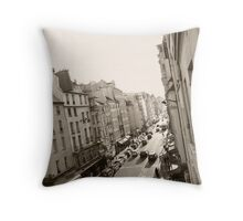 Blvd St Michel Throw Pillow