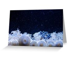 Upside Down Jelly Fish Greeting Card