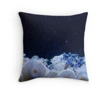 Upside Down Jelly Fish Throw Pillow