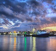 Mooloolah River Sunset  by Jennifer Bailey