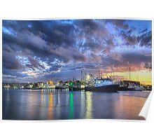Mooloolah River Sunset  Poster