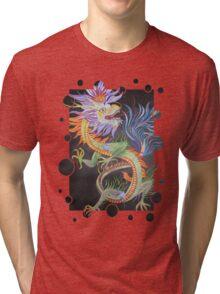 Beautiful Chinese Dragon Tri-blend T-Shirt
