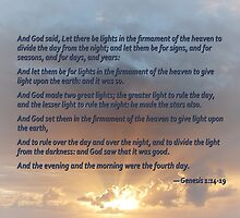 Genesis 1:14-19 by Susan Savad