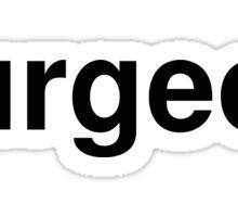 surgeon Sticker