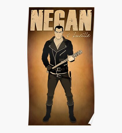 The Walking Dead - Negan & Lucille 2 Poster