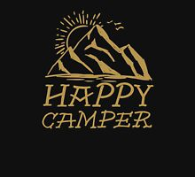 Happy Camper - Gold Unisex T-Shirt