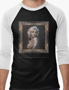 Marilyn WW  Men's Baseball ¾ T-Shirt