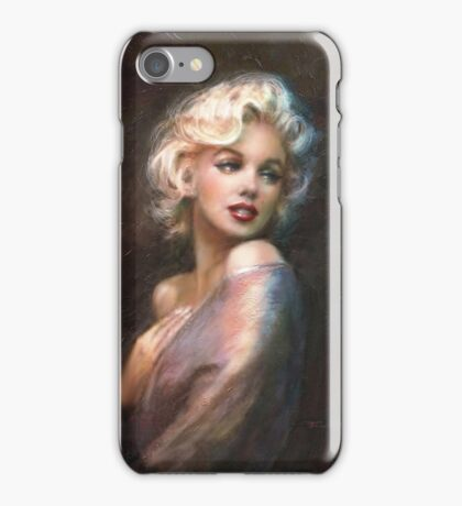Marilyn WW Romantic Soft iPhone Case/Skin