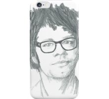 Richard Ayoade Sketch (Large) iPhone Case/Skin