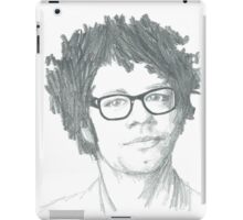 Richard Ayoade Sketch (Large) iPad Case/Skin
