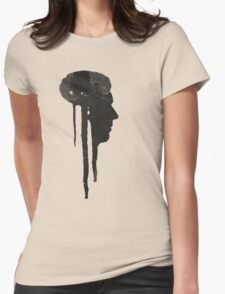 Dying Inside - Grunge T-Shirt Womens Fitted T-Shirt