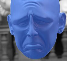 Blue Man by simpsonvisuals