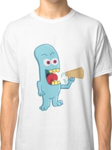 Blue Monster Screams Classic T-Shirt