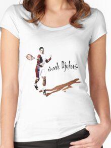 Djokovic Women's Fitted Scoop T-Shirt