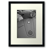Italian by Design Framed Print