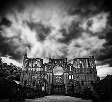 Rievaulx Abbey by Rory Garforth