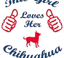 this girl loves her chihuahua by trendz