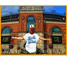 YANKEE HATERS ONLY -BALTIMORE ORIOLES  Photographic Print