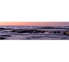 The Overflowing Rock Pools Photographic Print