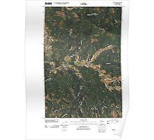 USGS Topo Map Washington State WA Lebam 20110406 TM Poster