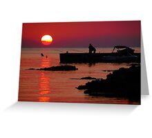 Santa Ponsa Sunset II Greeting Card