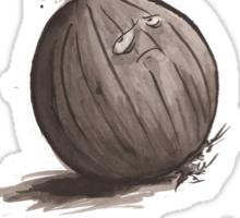Sad Onion Sticker