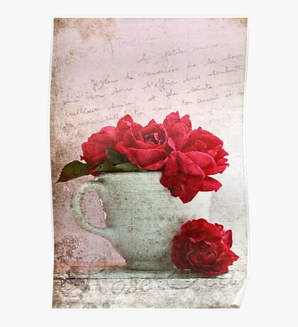Rose Tea Poster