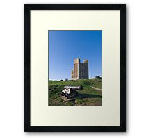 Orford Castle Framed Print
