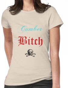 The Cumberbitch Club. Womens Fitted T-Shirt