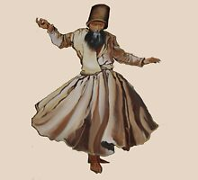 Whirling Dervish Conveys God's Spiritual Gift  T-Shirt