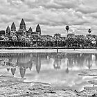 Angkor Wat, Cambodia by Karl Willson