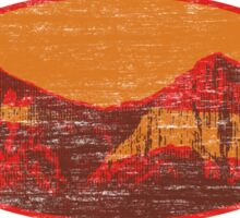 Red Rock Canyon Sticker