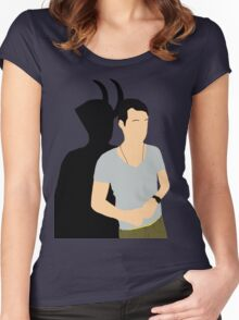 Loki from IT Women's Fitted Scoop T-Shirt