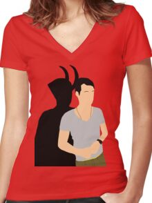 Loki from IT Women's Fitted V-Neck T-Shirt