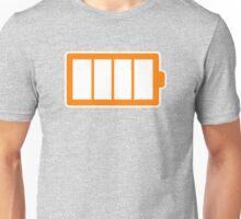 Battery Level   Simple Unisex T-Shirt
