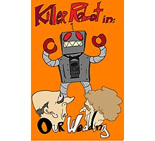 Killer Robot Goes to a Wedding Photographic Print
